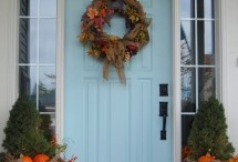Front porch decorating / by Casey Hylton
