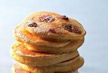 Pancakes à la Plancha / Recettes de pancakes sous toutes les formes... pour le petit déjeuner ou le goûter...