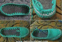 ciabatte crochet