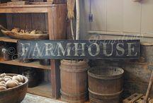 Farmhouse antiques