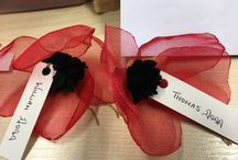Devon Remembers / Devon People have handcrafted 11,000 poppies which will be made into a tribute to the men and women from the county show died in the First World War. See the display in the Crafts & Garden Pavilion.