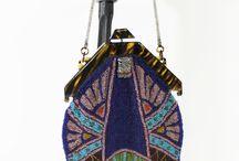 beaded purses / hand made beaded  vintage purses