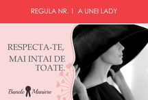 Reguli pentru o Lady