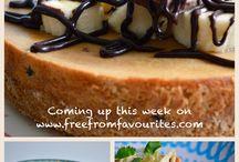 Sneak Peak / Coming up this week on www.freefromfavourites.com