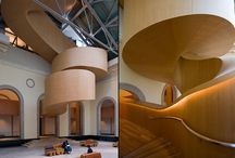 + Striking staircases + / Staircases ideas all imposing and sweeping!