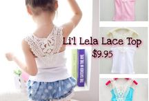 Li'l Tops / Tops and Shirts for your little one