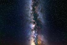 Photo - Night, the Milky Way and auroras