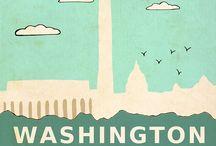 Mapas e posters de viagem