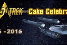 Star Trek Cake Celebration / There are precisely 50 years was shown the first regular episode of the original series of Star Trek!  To celebrate the 50th anniversary of the saga, a group of cake designers and sugar artists from around the world joined creating edible pieces with their characters, ships and favorite scenes.  Don't miss this collaboration, all artists involved thank you for your support!  Star Trek 50 – Cake Celebration
