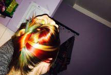 Rainbow Hair / Rainbow Hair#Davines