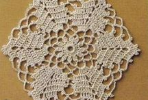 Crochet - doily, serwetki