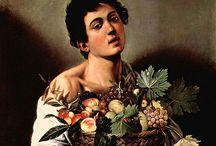 Owoce w sztuce  / Tablica poświęcona różnorodnym przedstawieniom owoców w sztuce światowej.
