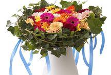 Ramos de mano / Interesantes trabajos florales tipo bouquet, verticales, horizontales...