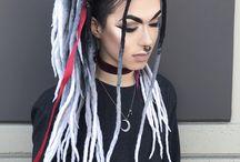 colored dreads dreadlocks