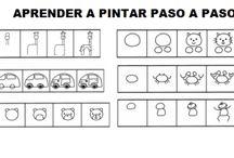 Para edad preescolar / Que hacer, personajes, manualidades para preescolares.
