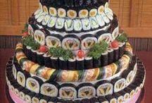 **Sushi-owoce morza**