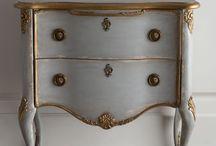 Painted furniture / by Genie Renaudin