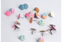 Decorate Your Bulletin Board / DIY thumbtacks and other fun bulletin board ideas! / by Mrs. Greene