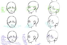 Drawing - Head