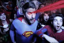 Super Heroes & Villains
