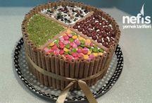 Doğumgünü pastadı