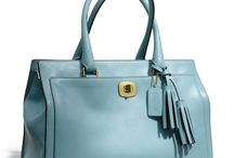 My Coach Collection / My favorite brand of all time! A collection of my bags and accessories.