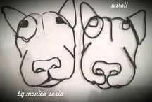 Bull terrier now / bull terrier wire  studio