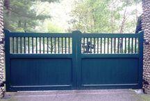 Driveway Gate Ideas / by Carol Dibert