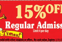 Fun Timez Printable Coupons / We all love a good deal. Check out these great deals from Fun Timez!