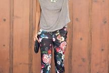 Patterned Trousers / Clothing