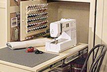 Sewing storage