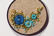 French knots & embroidery