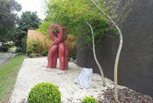 escultura, sculpture, mosaico