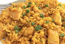 arroz, quinoa, pastas.