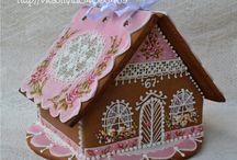Perníkové chaloupky / gingerbread houses