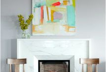 FIREPLACE / A selection of different fireplaces.