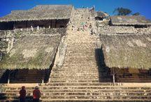エクバラン Ek Balam / チチェンイツァから近い登れる遺跡です。 マヤ人が見ていた同じ風景をぜひ登頂からご覧ください!