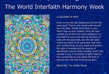 World Interfaith Harmony Week / A series of seven designs to celebrate World Interfaith Harmony Week 2015. The designs were done in English and Finnish