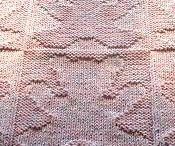 Baby deken met patroon / Patroon beertje