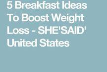 Slimming breakfasts