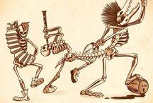 Art of Punk: Skulls & Stuff