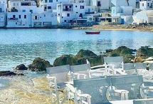 Paros Island | Cyclades / If there's one island that best represents the archipelago of Cyclades that would be Paros. Cosmopolitan and multidimensional, suitable for any type of holiday, the island Paros promises a unique e hospitality experience. Paros is best known for its many different beaches and extreme watersports since it's on these waters that sailing races are being organized every summer and the Windsurfing World Championship is held.