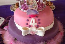 Butik pastalarım / Prenses Sofia Temalı Doğum günü partimiz