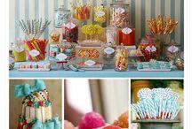 Sweet treats table