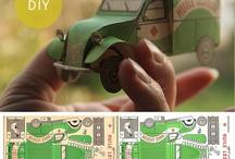 Модели из бумаги