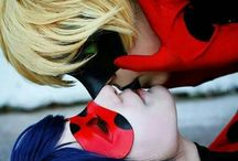 cosplay chat noir e ladybug