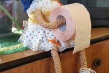 panenka na toaletní papir