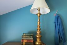Light up the room / Vintage lighting for any room! Mid-century modern table lamps, retro hanging lights, antique chandeliers, etc.