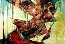art / by Rachael Vida