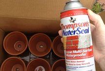 Outdoor waterproofing